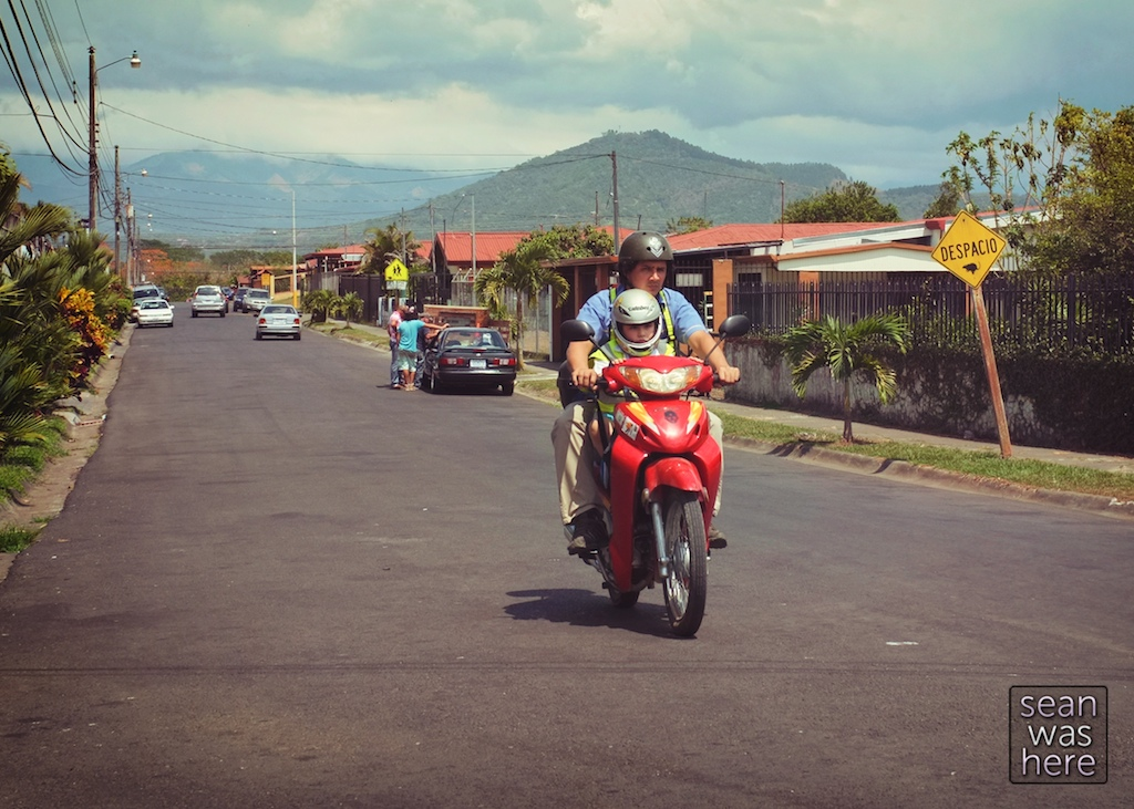 On the street: Palmares, Costa Rica