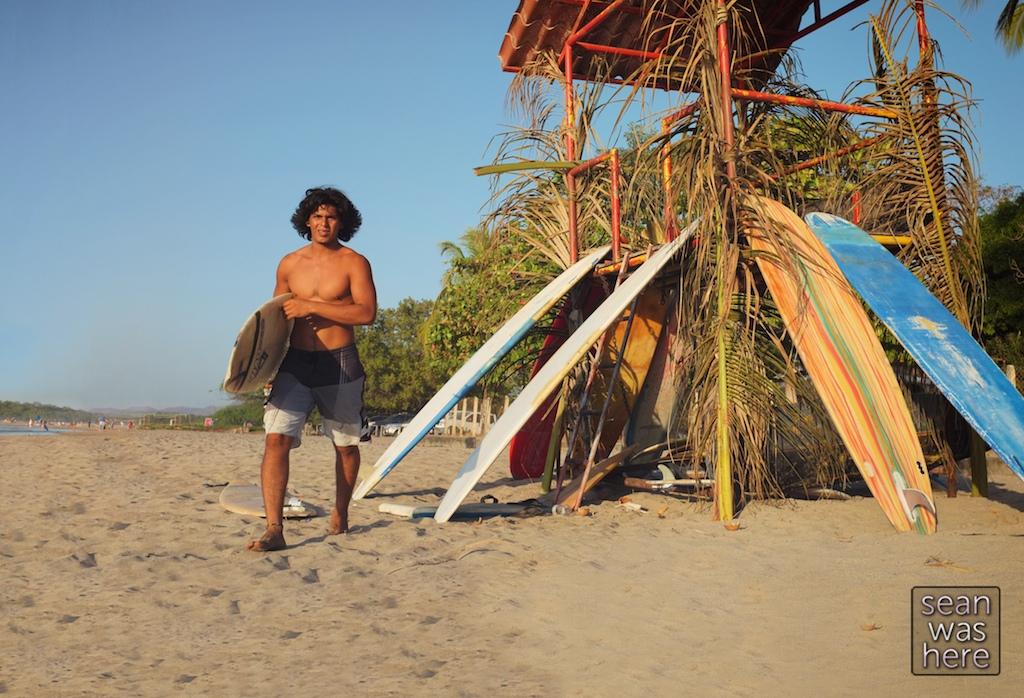 Surf life. Tamarindo, Costa Rica