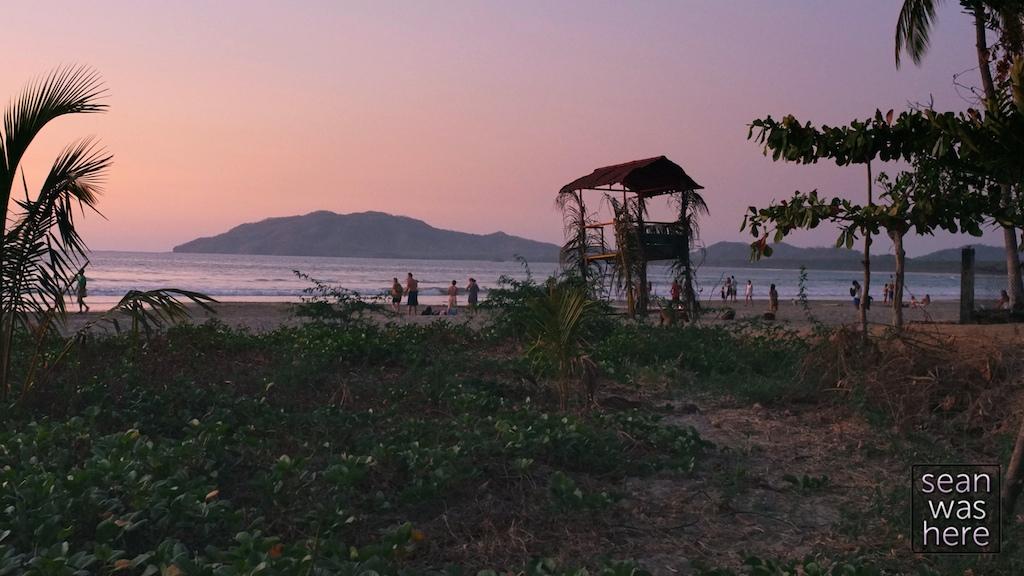 Tamarindo sunset. Tamarindo, Costa Rica