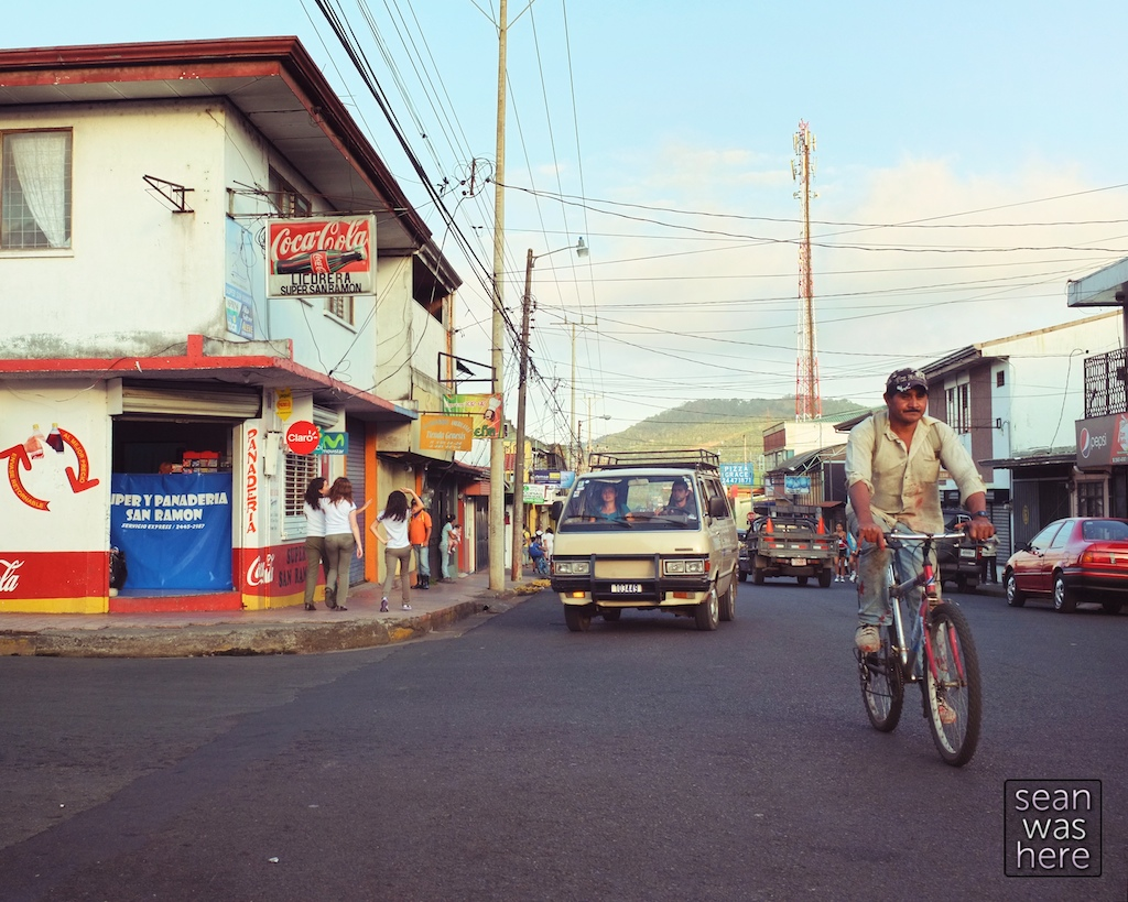 On the street: San Ramon, Costa Rica