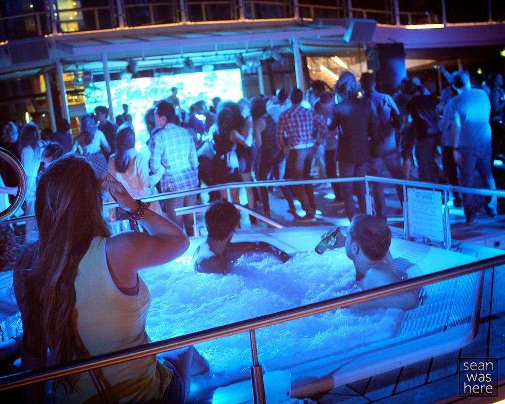 Pool Deck. SS Coachella. Celebrity Silhouette