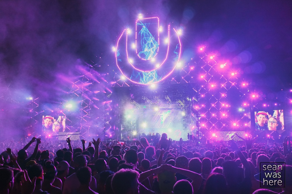 Main Stage. Ultra Music Festival, Bayfront Park, Downtown Miami