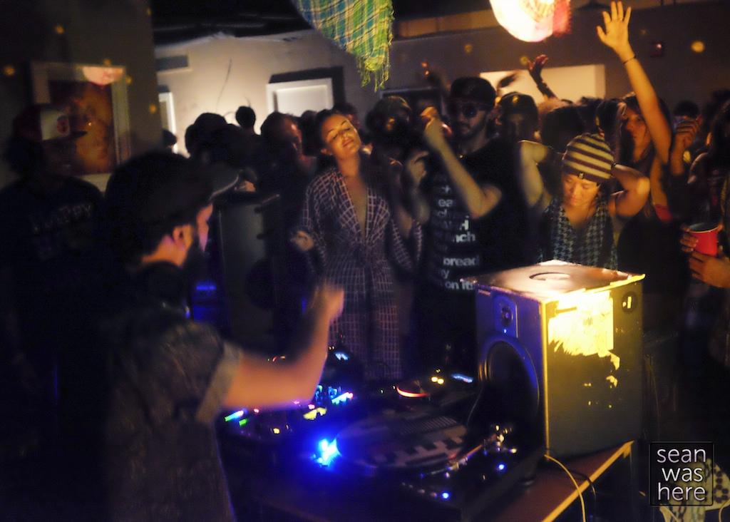 Pelvic Thrust loft party. Wynwood Miami