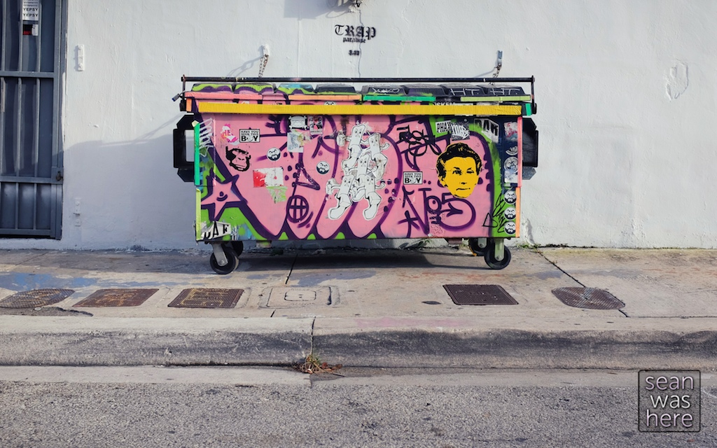 On the street. Wynwood Miami