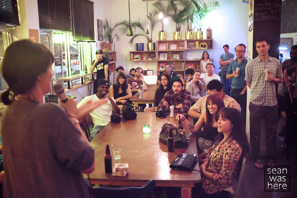 Lester's Comedy Night.  Wynwood Miami