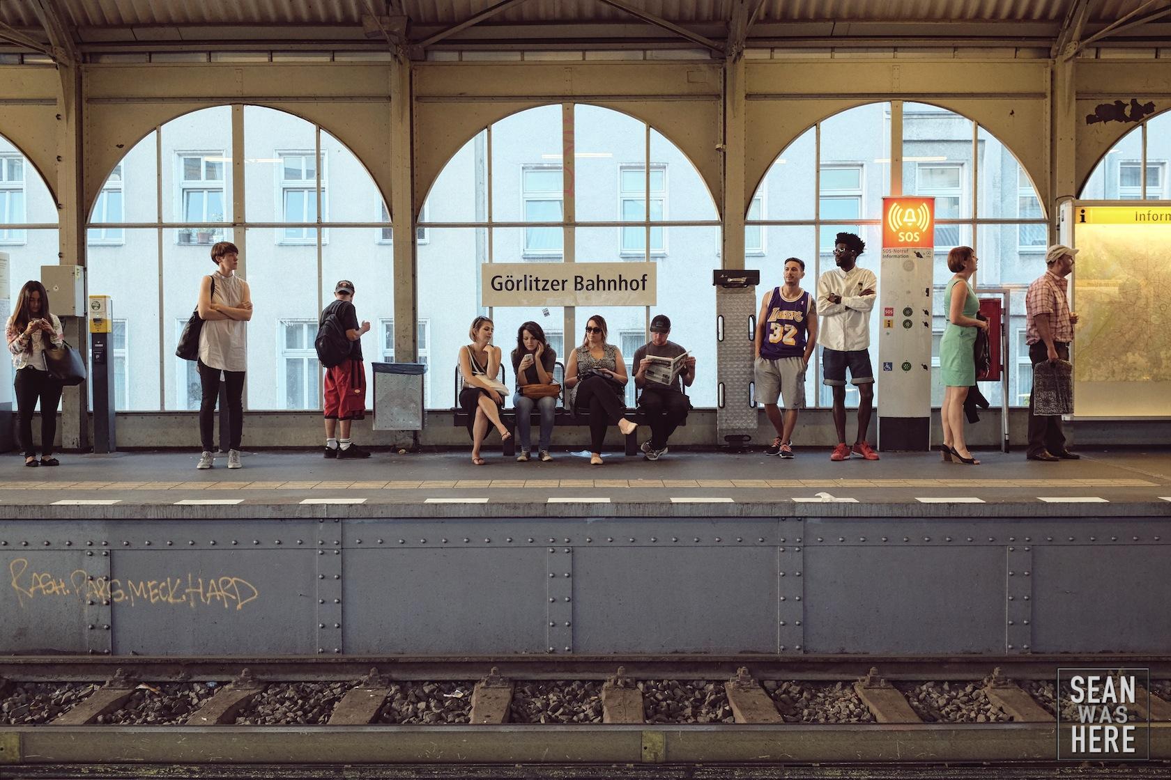 Görlitzer Bahnhof Metro. Berlin Germany