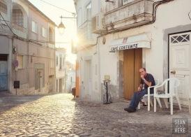 Cafe Contente. Palmela, Portugal