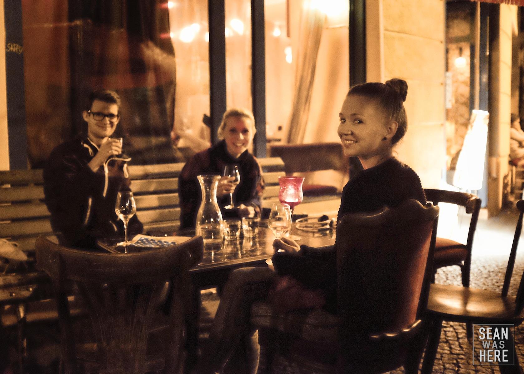 Perlin Wine Bar. Berlin Germany