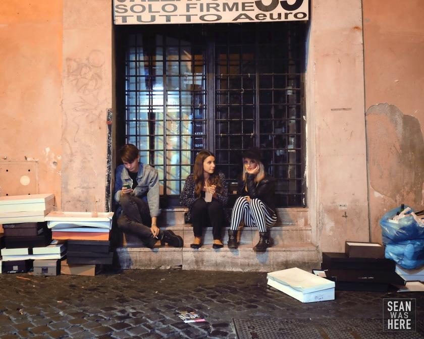Trastevere. Rome Italy