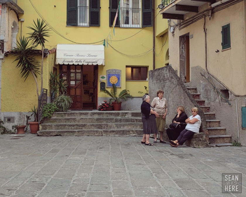 Street Photography. Cinque Terre Italy