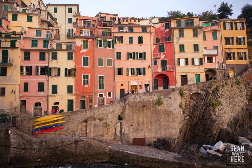 Architecture. Cinque Terre Italy