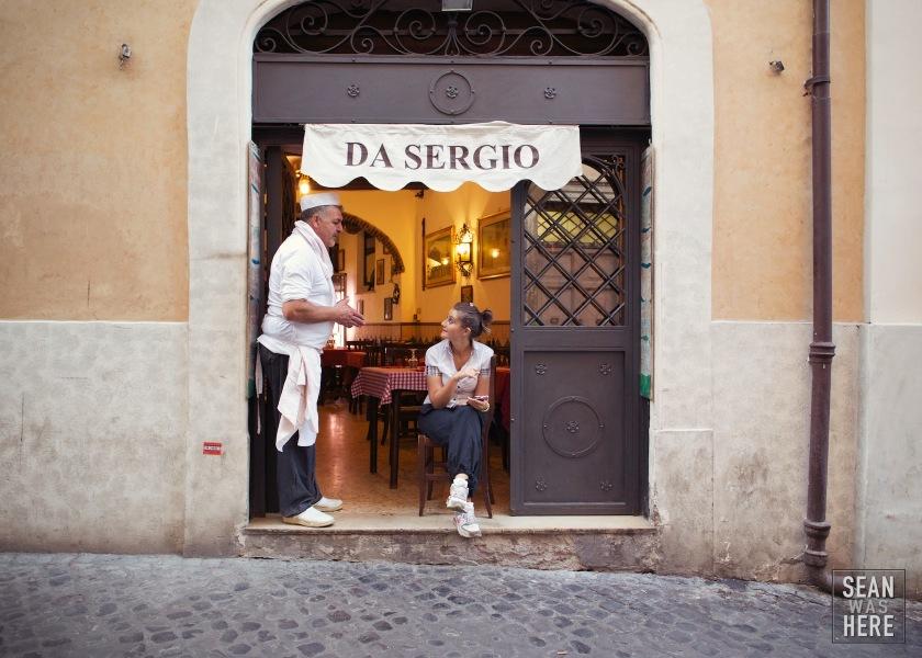 Da Sergio. Rome Italy