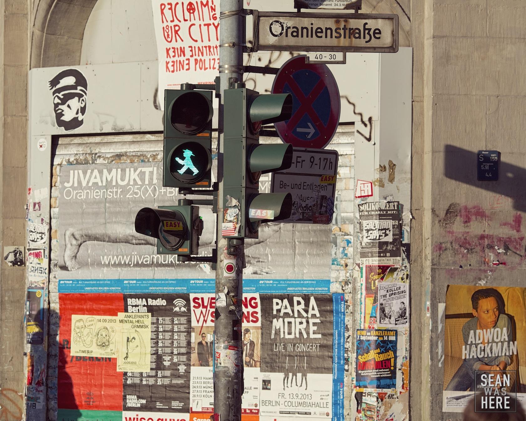 Oranienstrasse. Berlin Germany