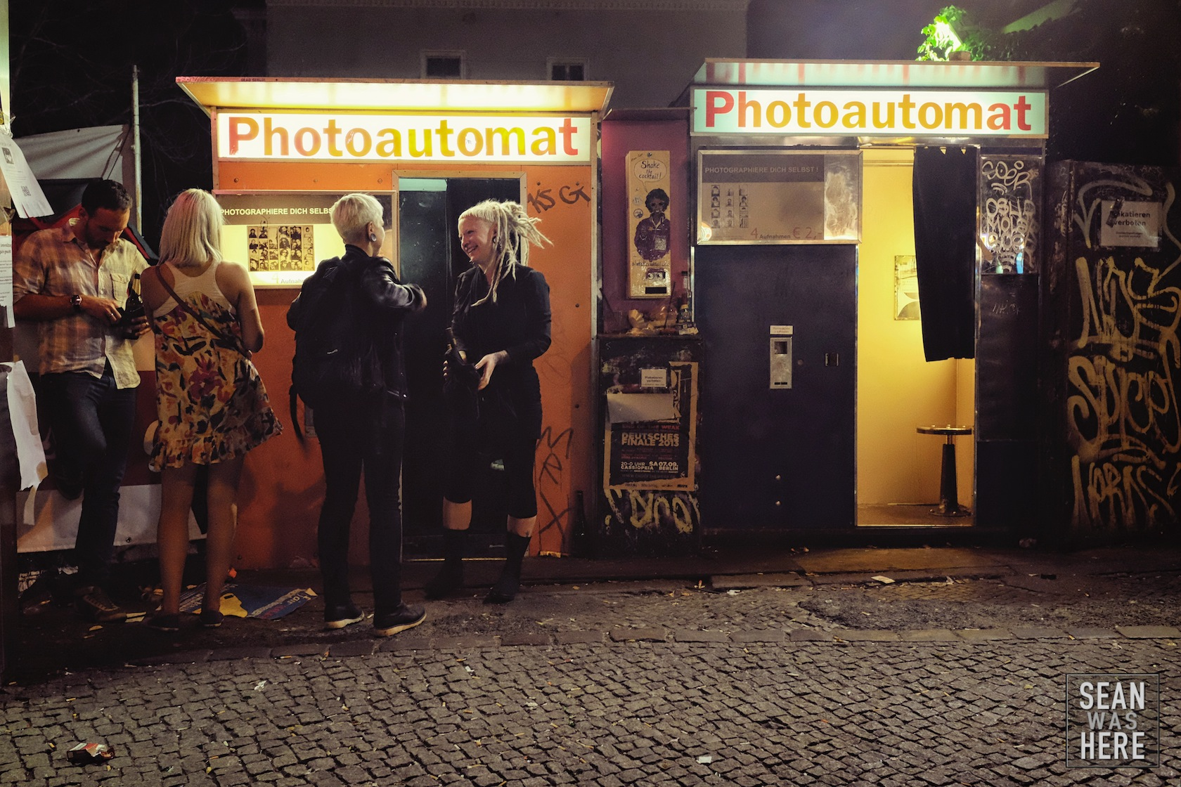 Photoautomat. Kreuzberg, Berlin Germany