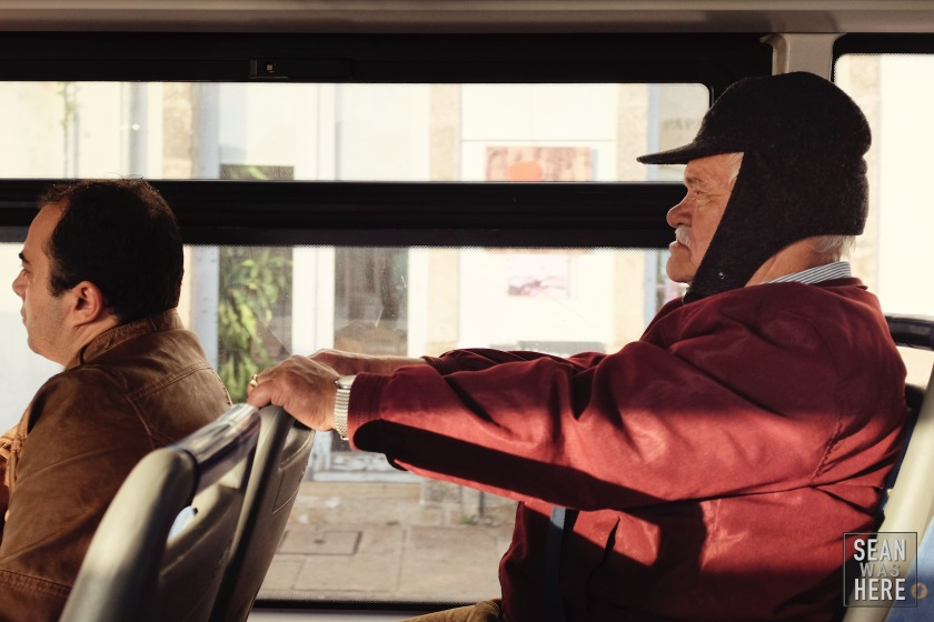 On The Bus. Porto, Portugal
