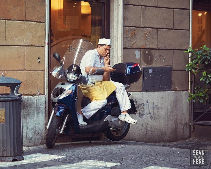 Street Photography. Rome Italy