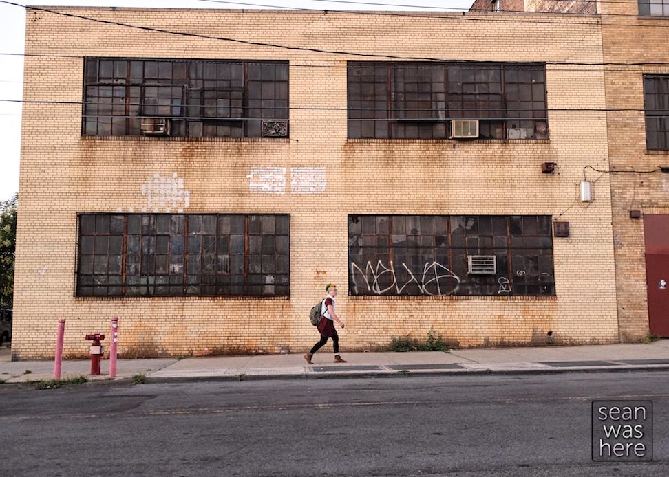 On The Street   Wyckoff Ave.  Bushwick, Brooklyn NYC Sean Was Here