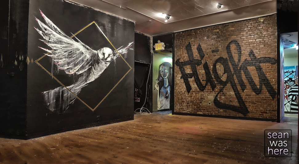 21st Precinct   Street Art / Graffiti NYC East Village Police Station [20 Photos] Sean Was Here