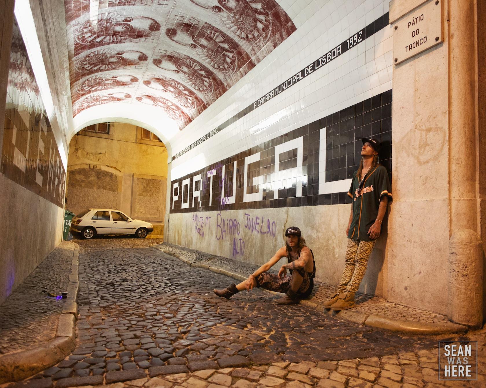 2Square (Justin & Jeremiah). Lisbon Portugal