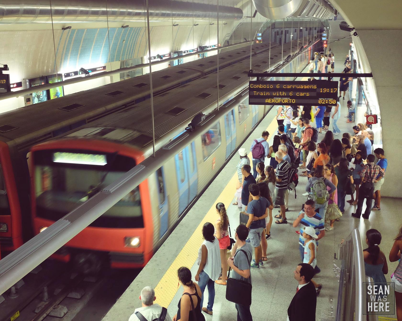 Metro. Lisbon, Portugal