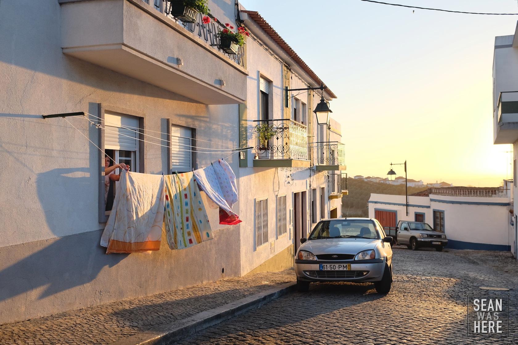 On The Street. Palmela, Portugal