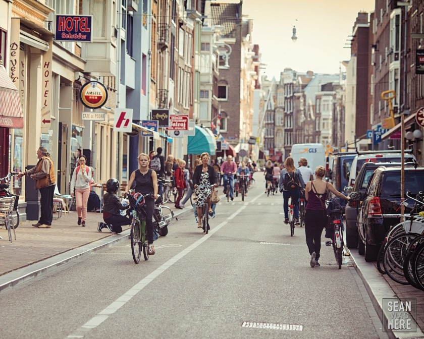 Land of Bikes. Amsterdam