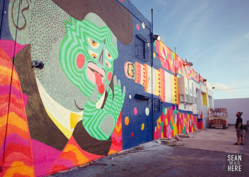 Kashink Mural, Wynwood Miami