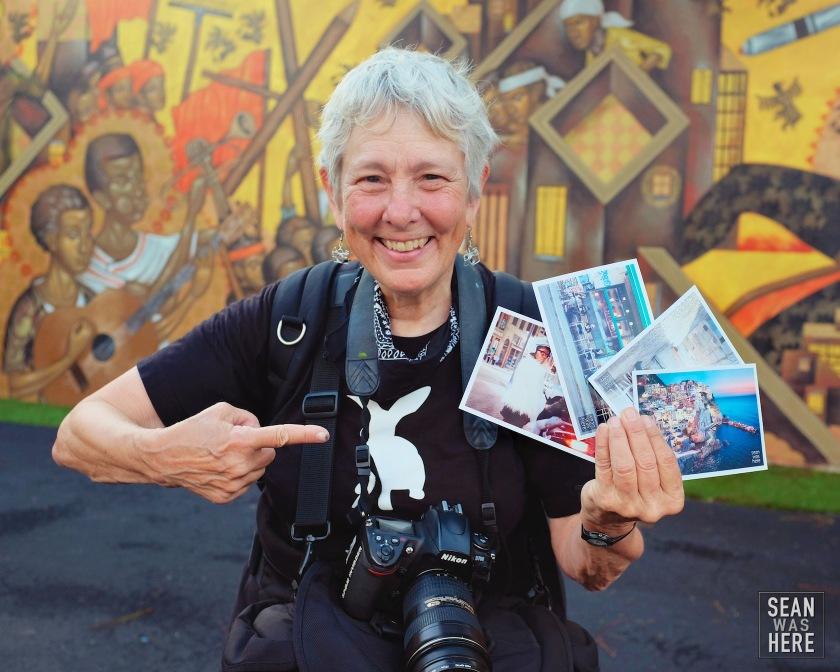 Martha Cooper - Sean Was Here postcards! Wynwood Miami