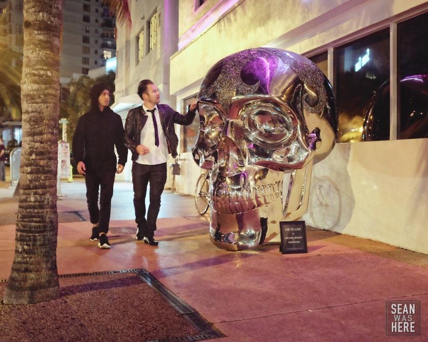 Michael Benisty, Swarovski. Skull, Miami Beach