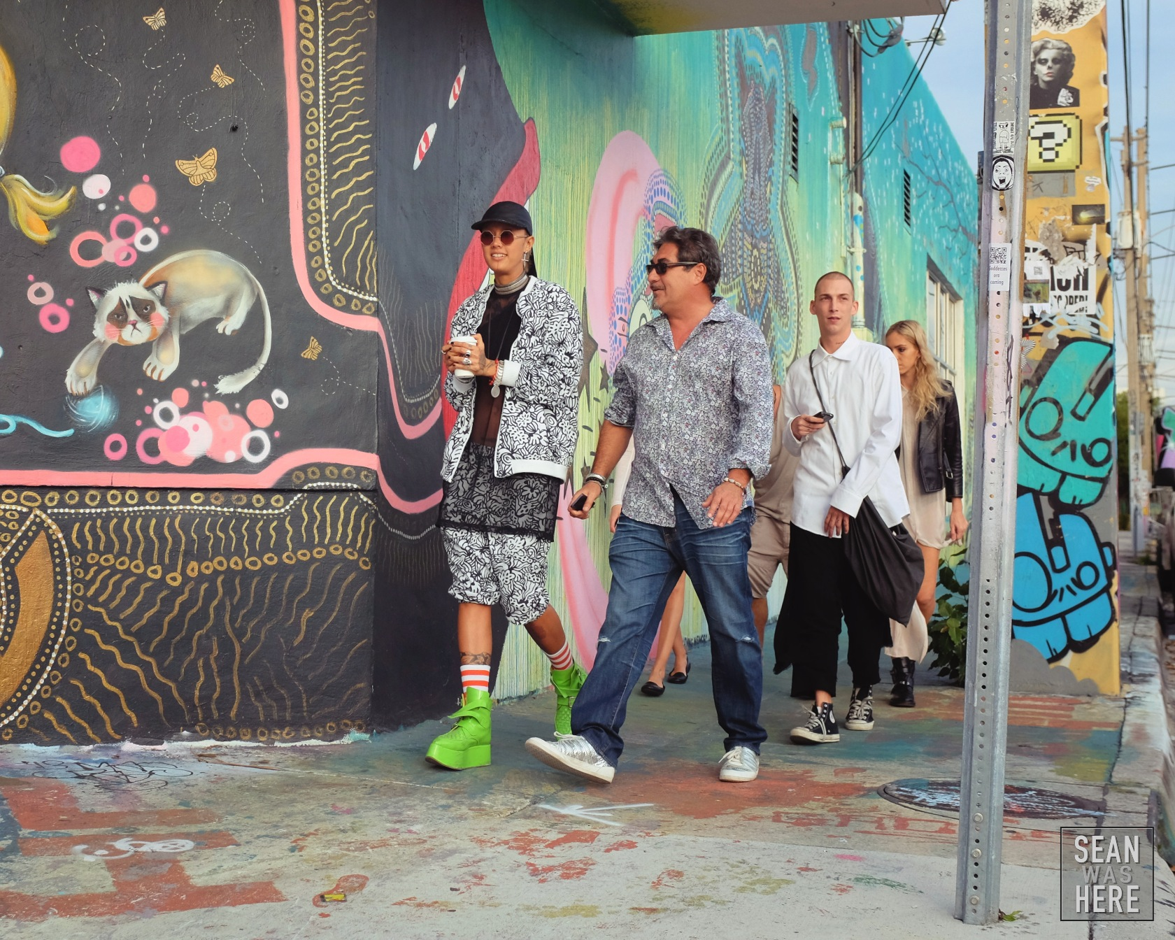 On The Street. Wynwood Miami Art Basel
