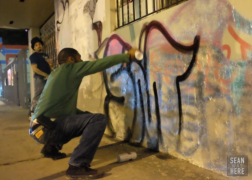 Street Graffiti. Wynwood Miami