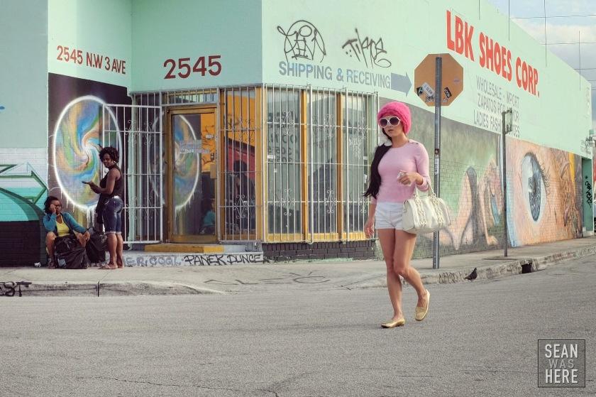 On The Street. Wynwood Miami Art Basel