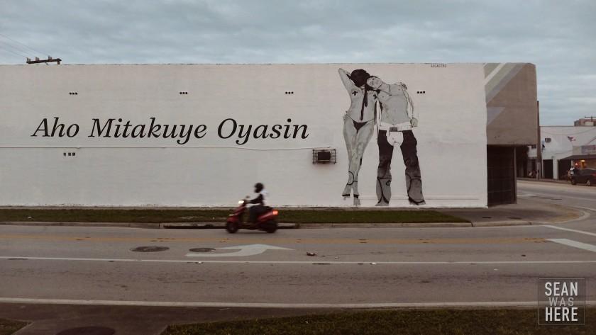 Aho Mitakute Oyasin by Locastro. Miami