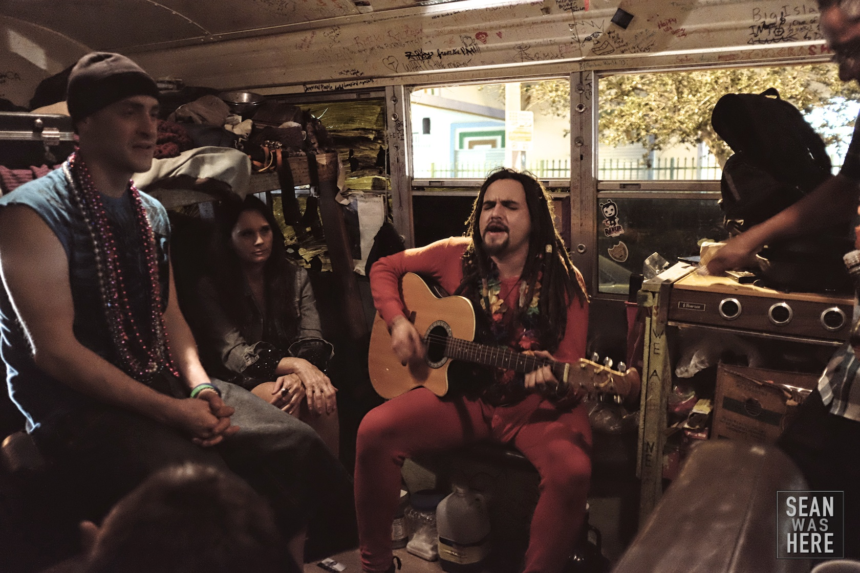 "The traveling theatre wagon! Inspired by modern day gypsies they had met in Italy, the traveling theatre wagon ""seeks to transform the streets of Miami into a theatrical landscape that transports the city dweller to an oasis where performance and story break the boundaries that separate performer from audience and bring communities closer to the arts."" Wynwood Miami"