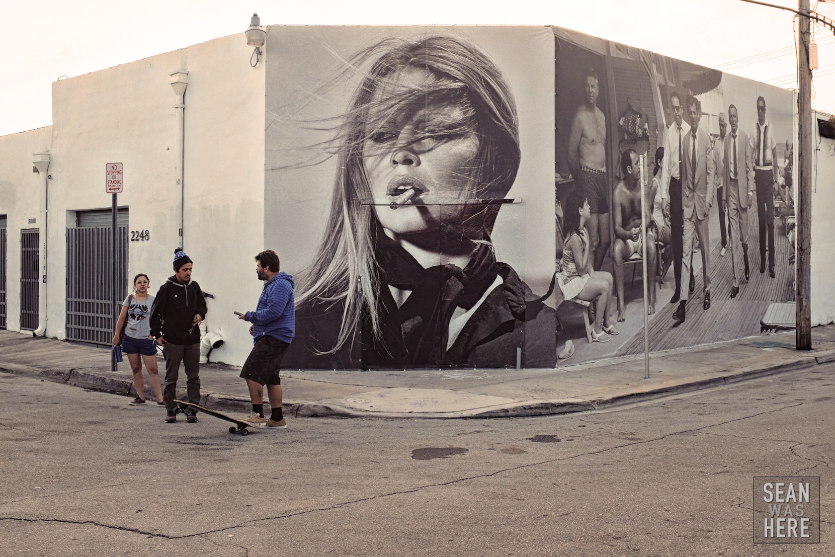 Street photography. I loved this addition to 23rd street in Wynwood. It has since been severely vandalized. Wynwood Miami
