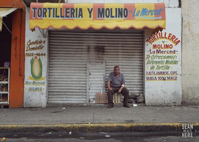 La Merced. Mexico City, Mexico