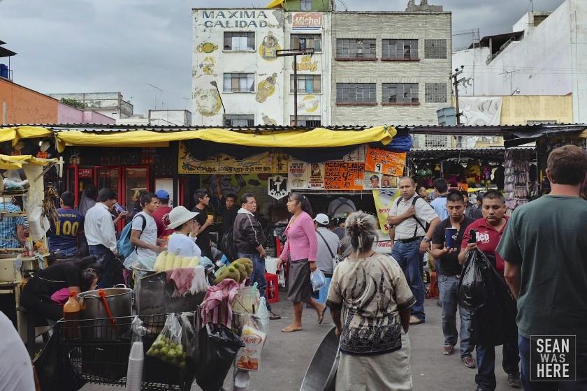 La Merced Market. Mexico City, Mexico