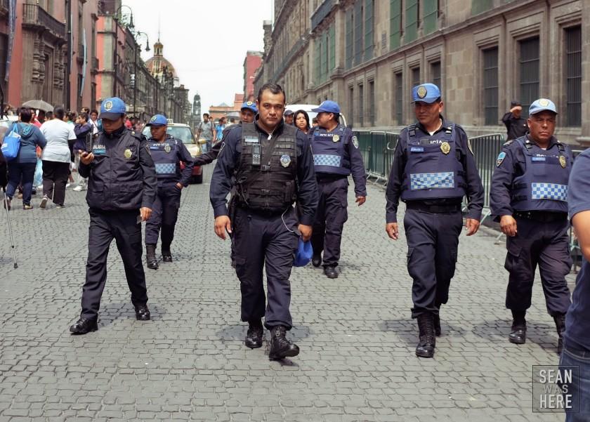 La Policia, Mexico City Mexico.
