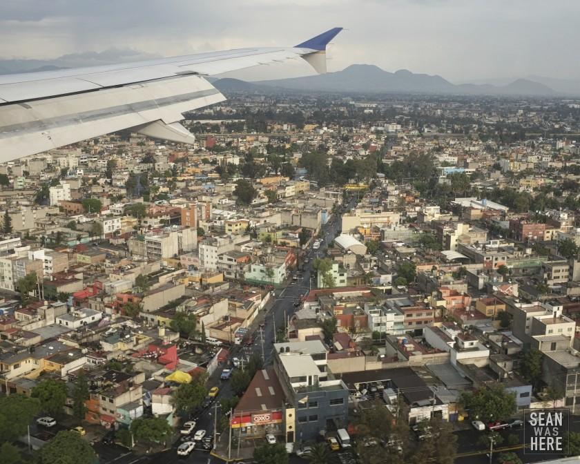 I've left America, again. Mexico City, Mexico