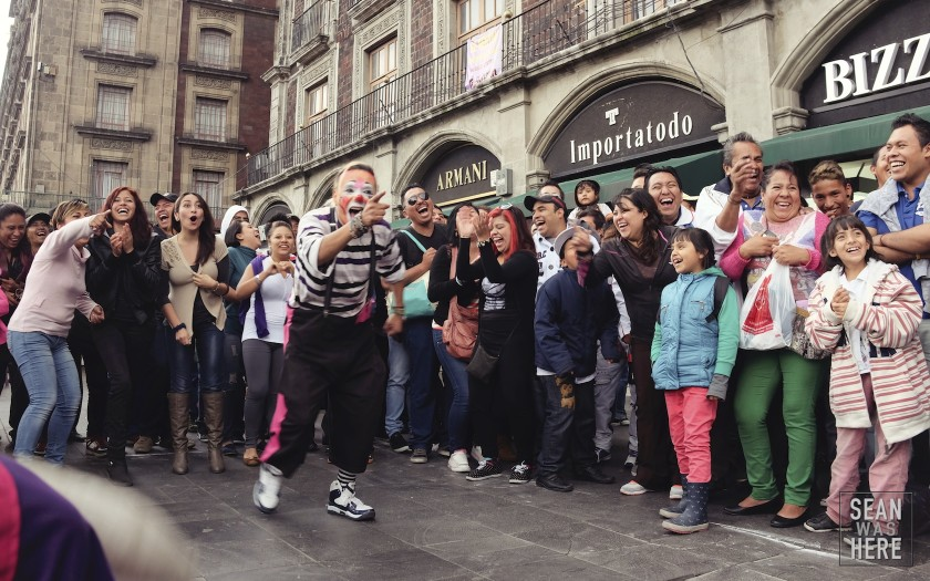 Street Performers, Mexico City