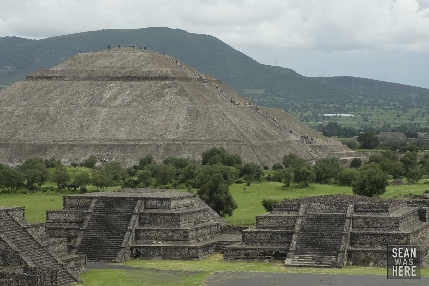 Ancient Ruins of Teotihuacan. Mexico