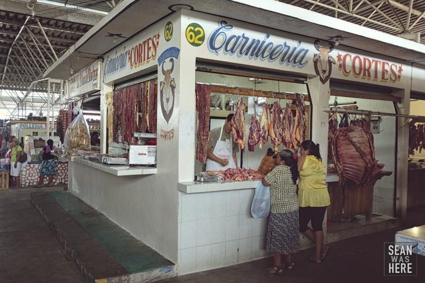 The Market. Puerto Escondido, Mexico