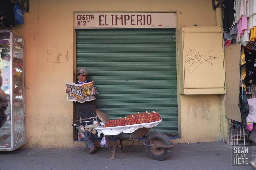 On The Street. Oaxaca, Mexico