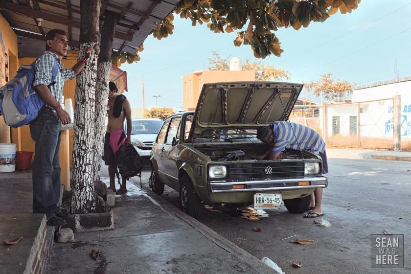 VW. Puerto Escondido, Mexico