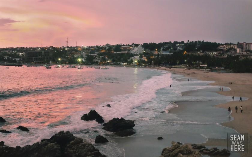 Sunset. Puerto Escondido, Mexico