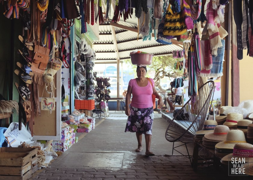 The Market. Puerto Escondido, Mexico