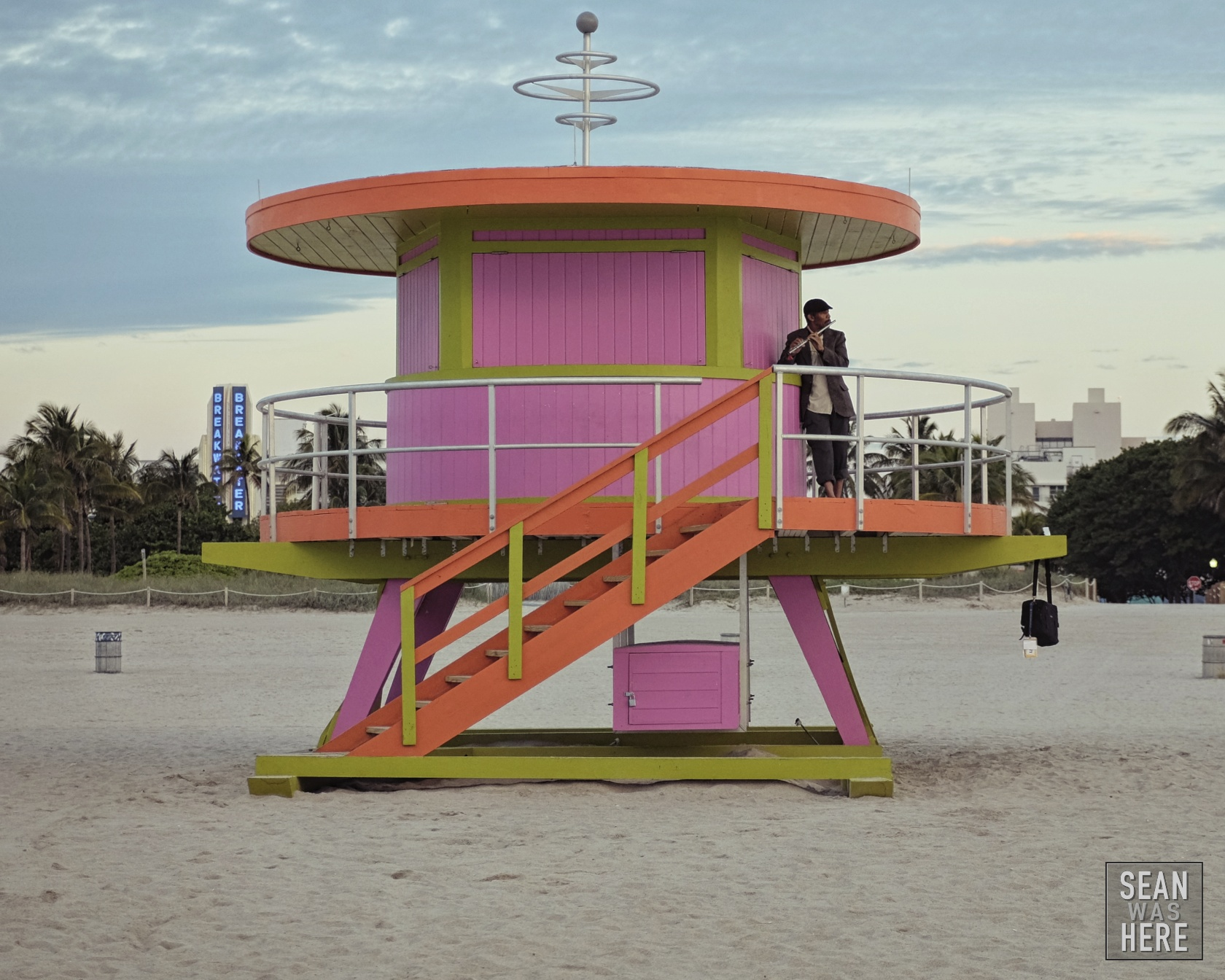 Miami Beach 10th Street Lifeguard Stand