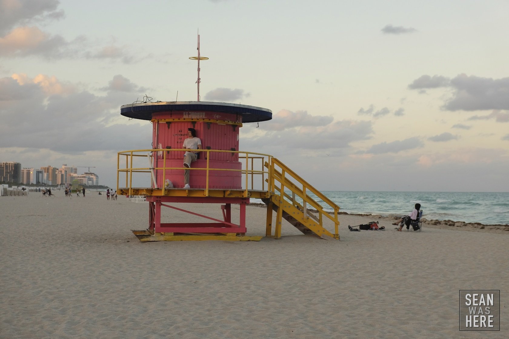 Miami Beach 10th Street Lifeguard Stand (old)