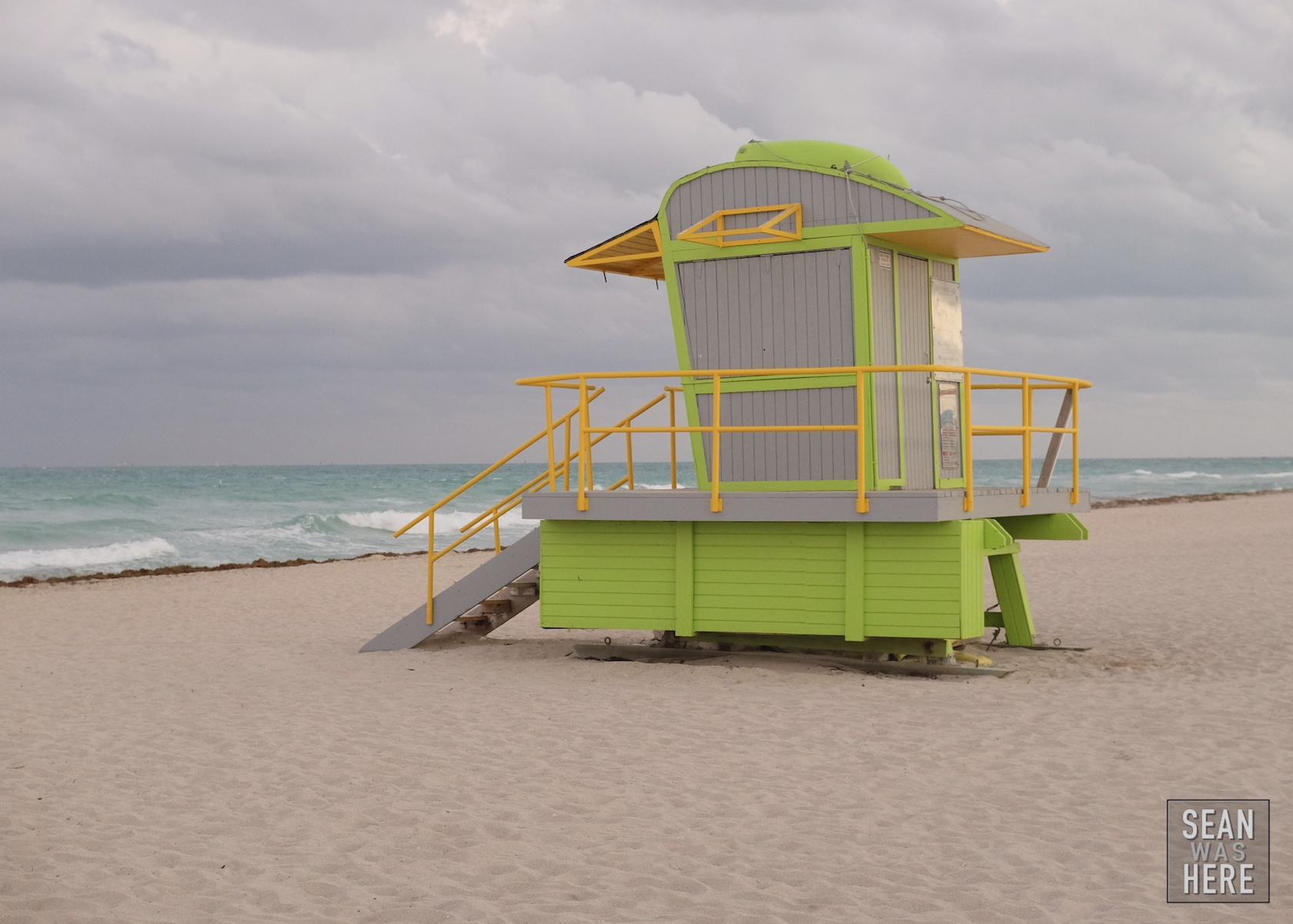 Miami Beach 12th Street Lifeguard Stand