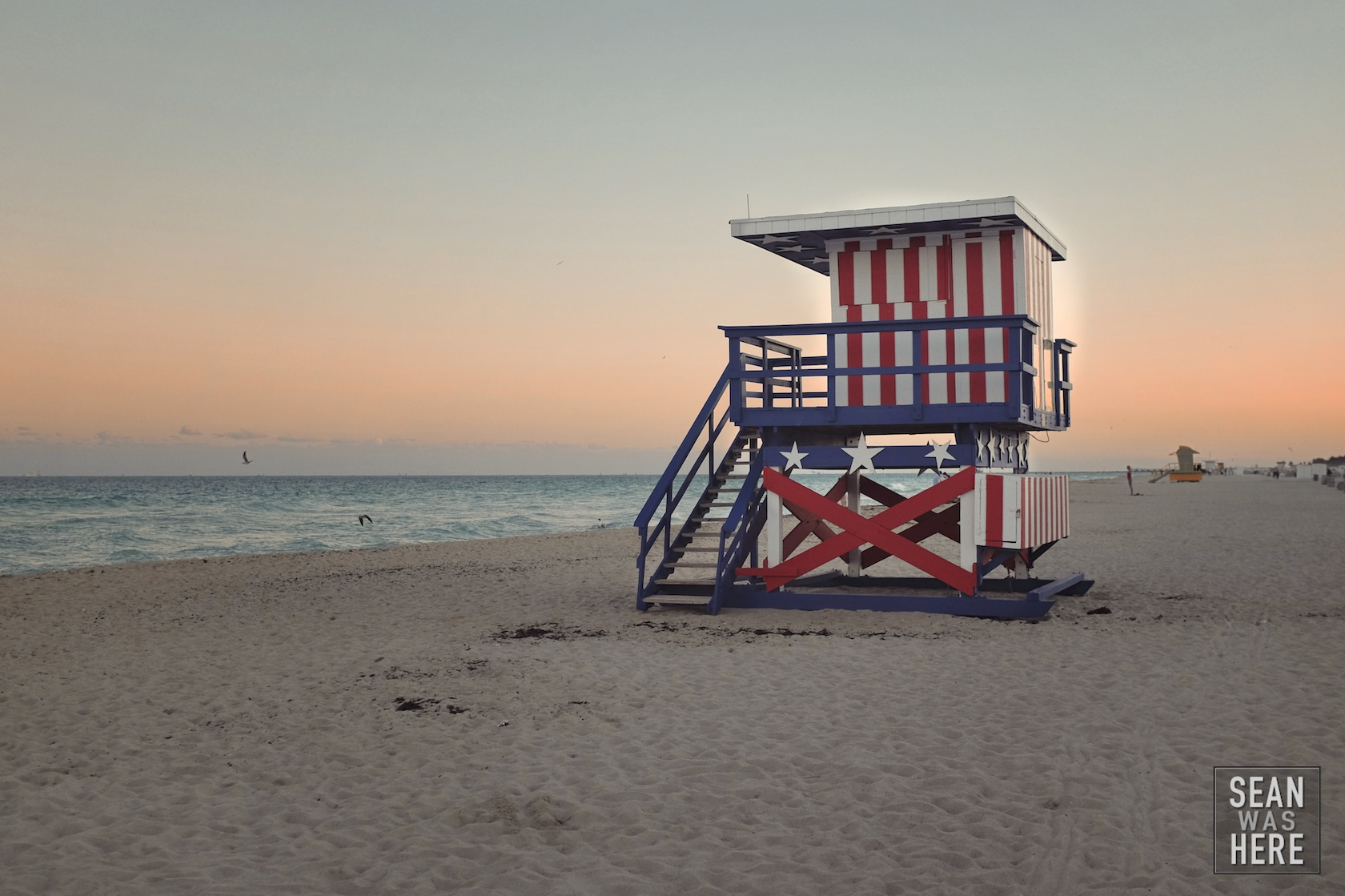 Miami Beach 13th Street Lifeguard Stand